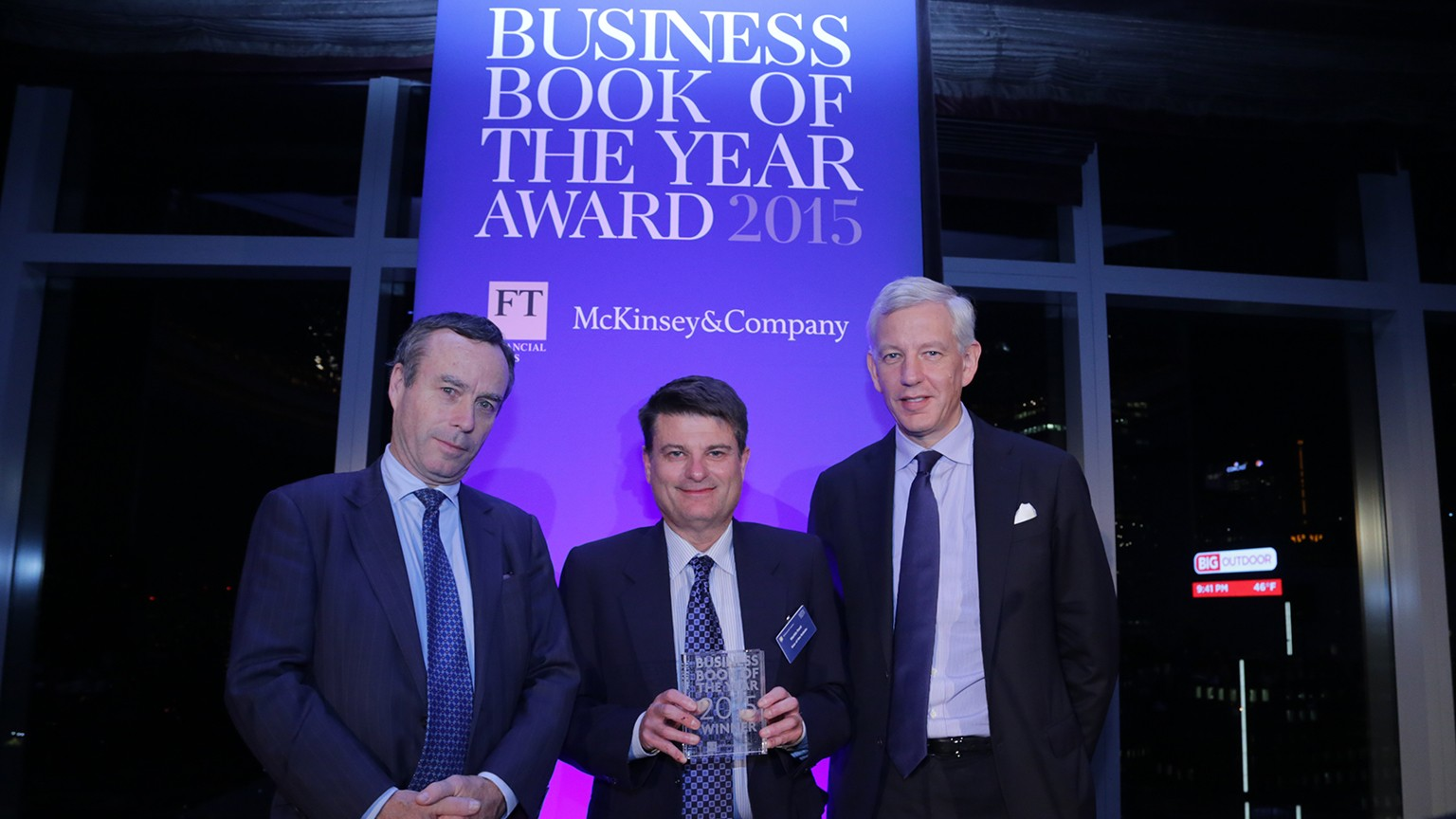 Robots and risk at the Business Book of the Year awards