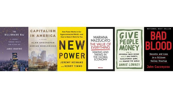 For your reading list – the Short List for Business Book of the Year