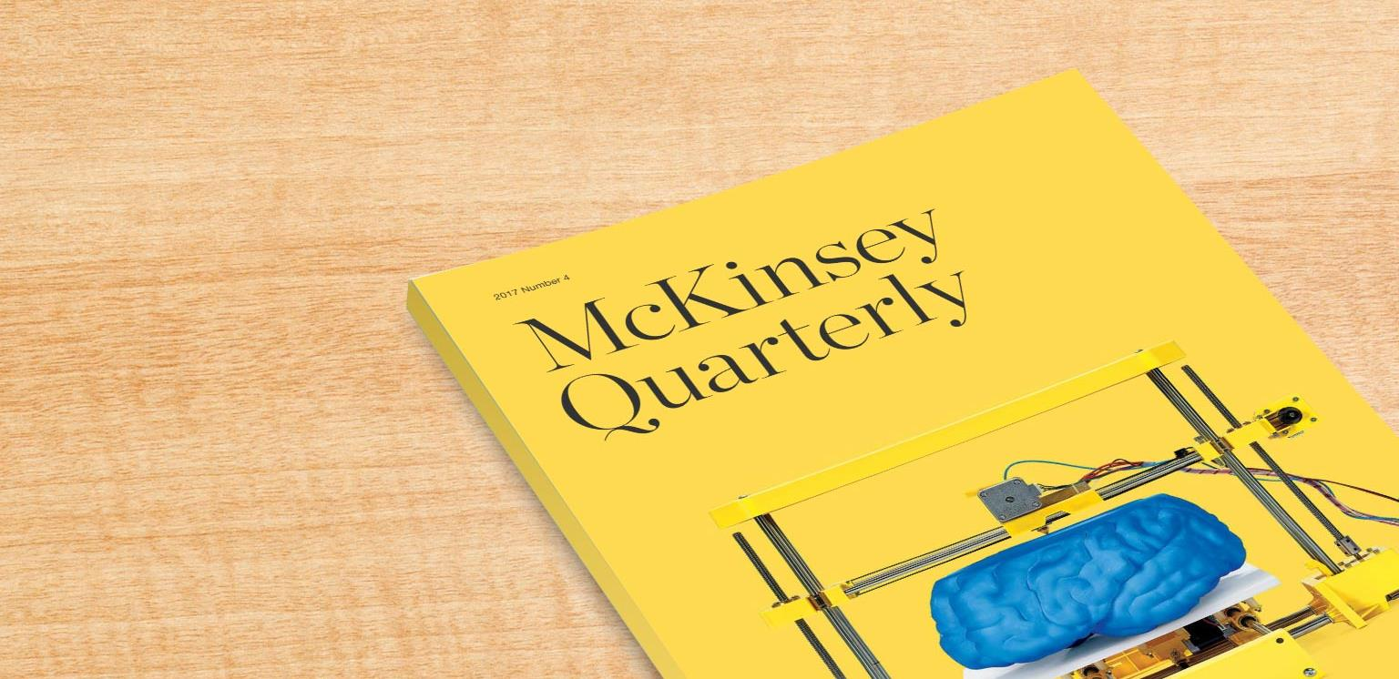 McKinsey Quarterly 2017 Number 4: Overview and full issue ...