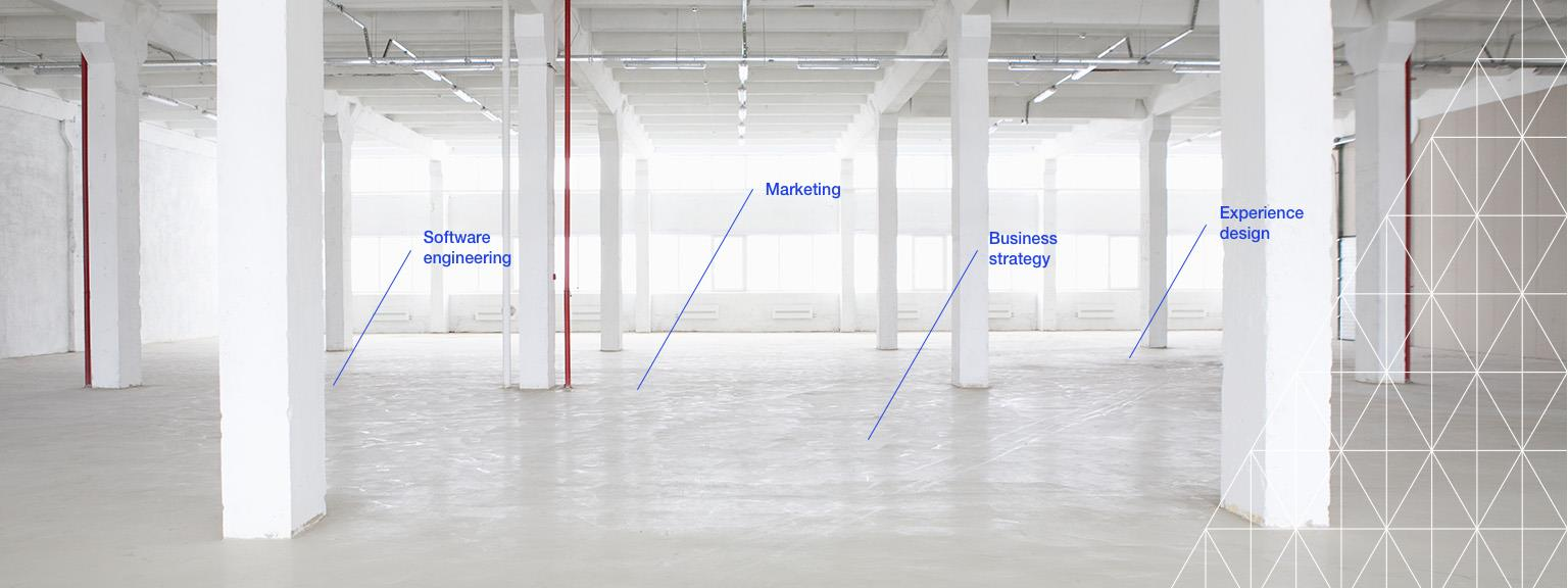 From empty warehouse to digital business