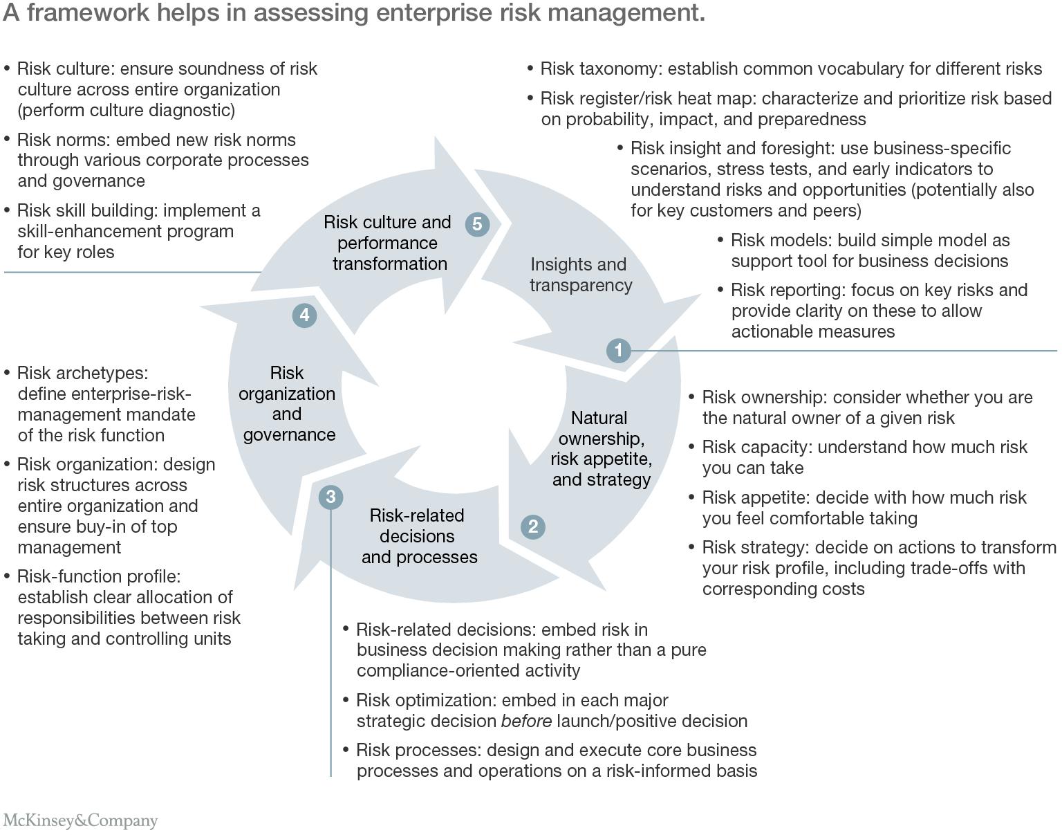 enterprise risk management case studies