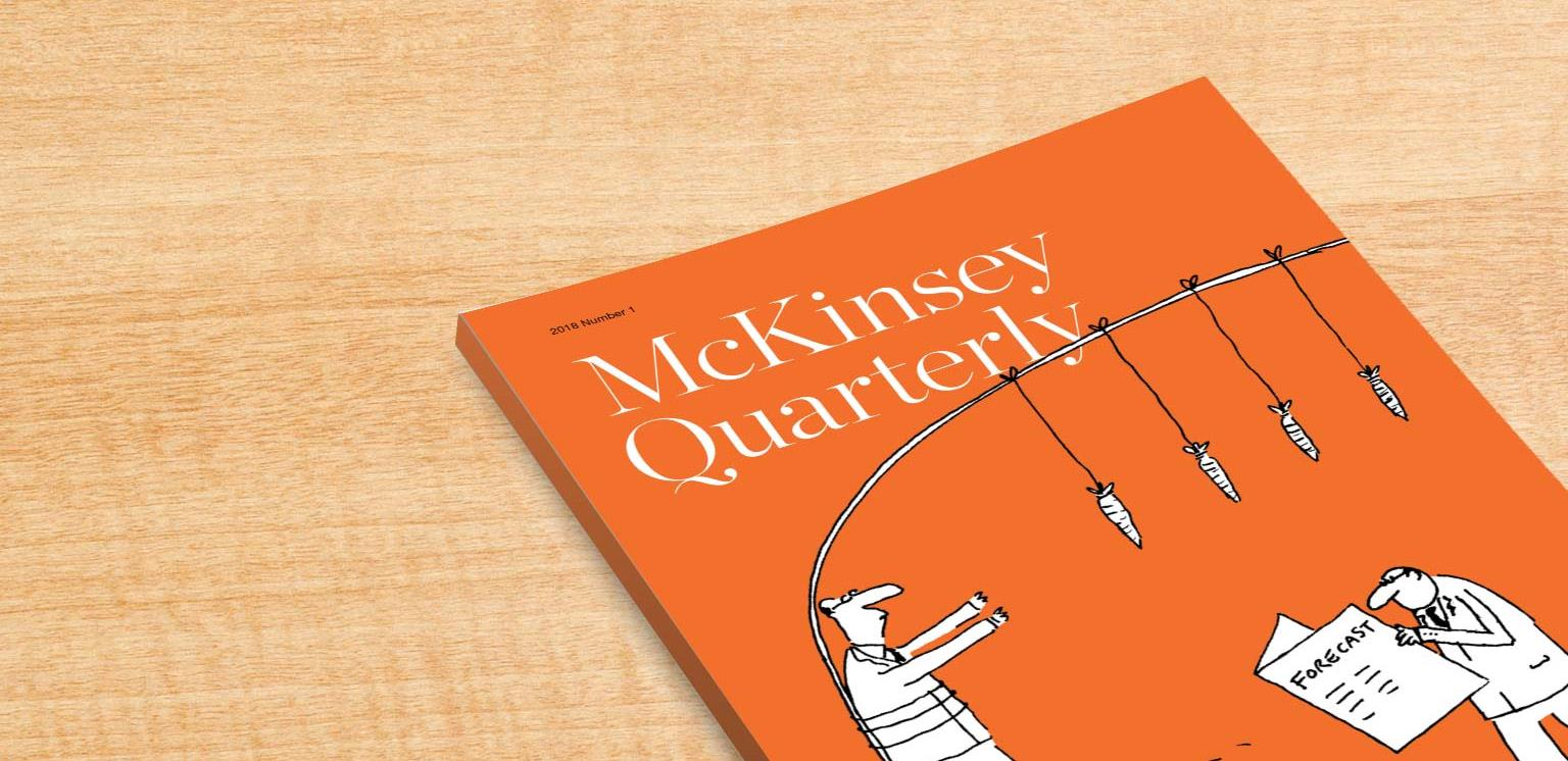 mckinsey quarterly on behavioral strategy spring View mim landry's profile on linkedin,  provided public and behavioral research analysis and writing,  developed and published more than 30 12-page quarterly.