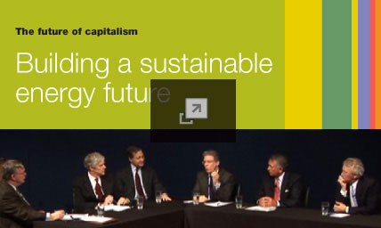The future of capitalism: Building a sustainable energy future