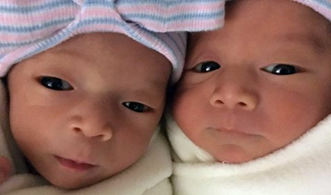 Welcoming our twins Clara and Jack