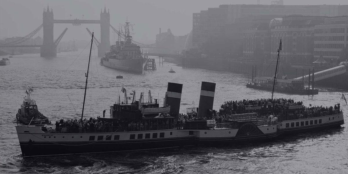 Image of the ship SS Savannah.