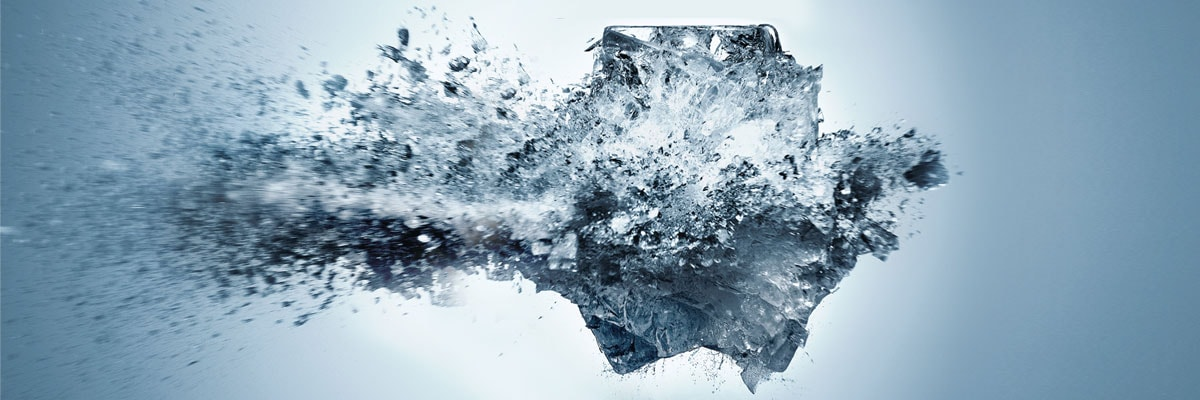 image of ice and water