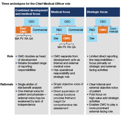 Genial Three Archetypes For The Chief Medical Officer Role