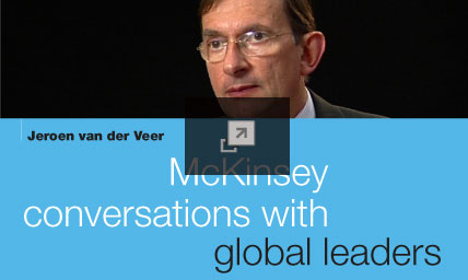 McKinsey conversations with global leaders: Jeroen van der Veer of Shell