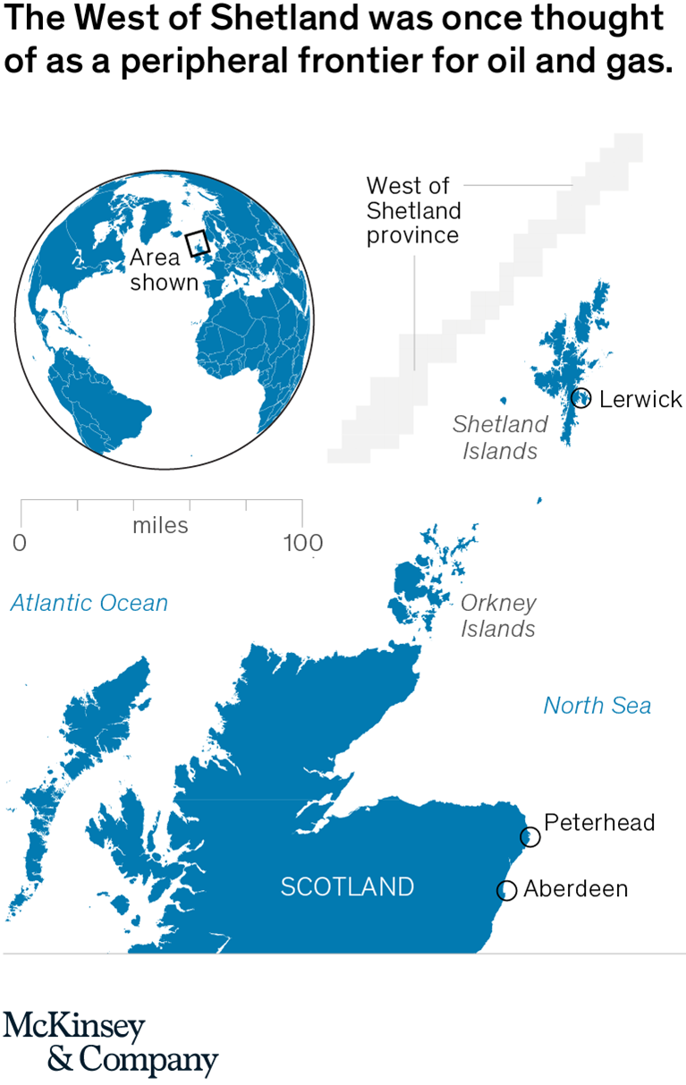 The West of Shetland was once thought of as a peripheral frontier for oil and gas.