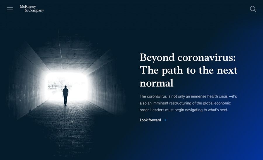 Beyond coronavirus: The path to the next normal