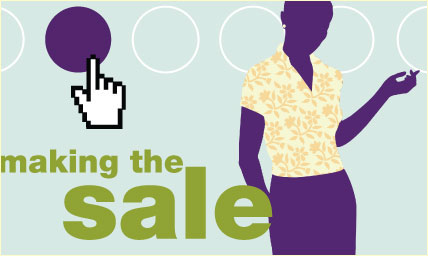 Secrets of making the sale