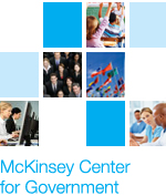 mckinsey center for government